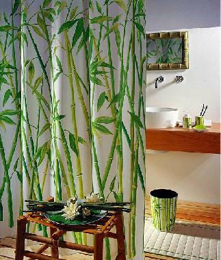 Duschvorhang Bamboo