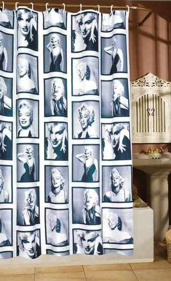Duschvorhang Marilyn Monroe