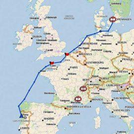 Fra Tuborg Havn til Portugal – af vandvejen
