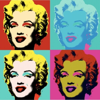 Andy Warhol - Marilin