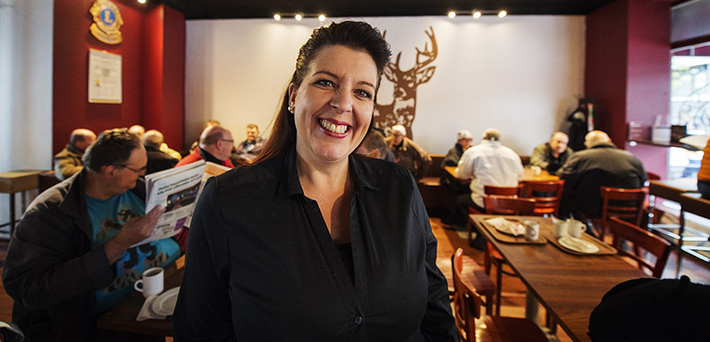Petra Onnela. Petra's Cafe