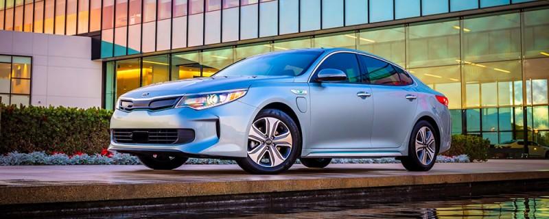 Uusi Kia Optima Plug-in Hybrid