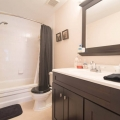 Shared guest bathroom, top floor