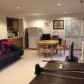 Private great room with kitchenette