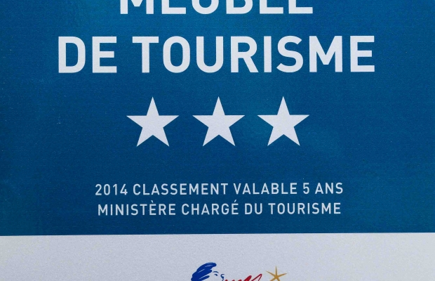 3 star awarded by Ministry Tourism