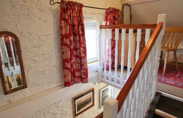 stairs in the cottage