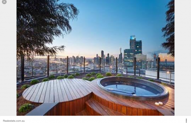 2 Roof top hot tubs