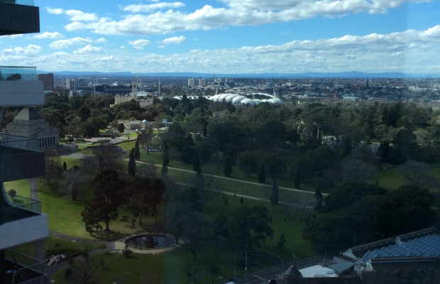 Botanic Gardens across the Road & AAMI Sports Statium, Melbourne Cricket Ground