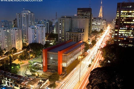 Masp museum at Paulista Ave