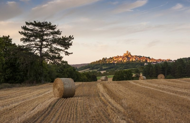 A lovely region: Vézelay, UNESCO world heritage.