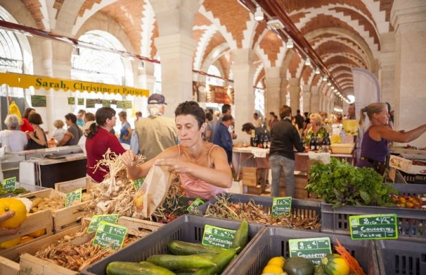 The market in Clamecy