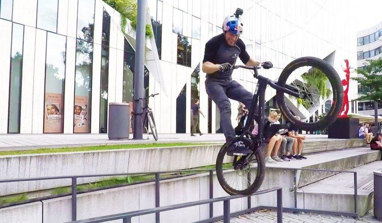 Danny MacAskill mostra-nos o que é possível fazer com uma bike. Incrível!