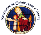 Logo sanctuaire sainte anne d auray