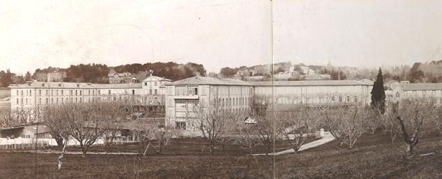 L'établissement en 1898, quelques années après sa construction