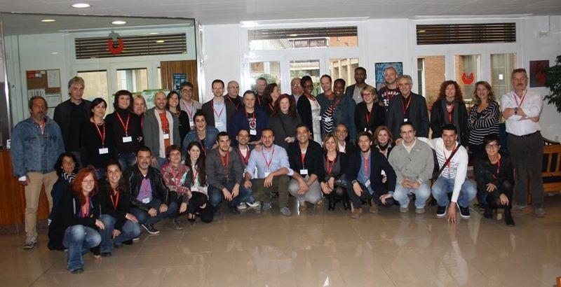 Les participants à la dernière rencontre de Barcelone