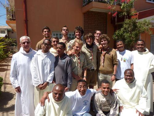 Mission de scouts français à Madagascar