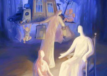 Quem nos trazem hoje as Escrituras? Abraão, Sara, Paulo, Marta e Maria. Cada um deles encontrou-se com Aquele que não anuncia a hora, que irrompe sem avisar.