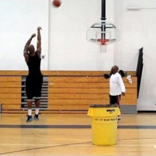Basketball Shooting Workout Video 3 From Dre Baldwin