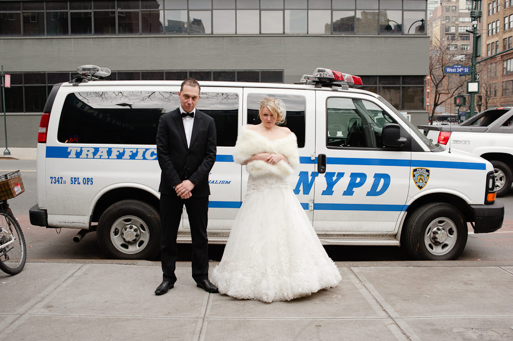 NYPD, New York Alternative Wedding Photography