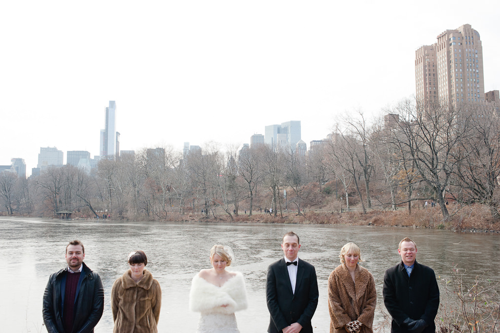 Central Park, New York Alternative Wedding Photography