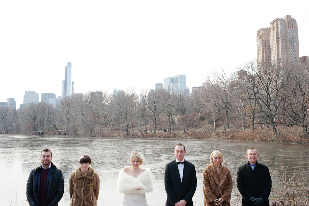 Central Park, New York , Alternative Wedding Photography
