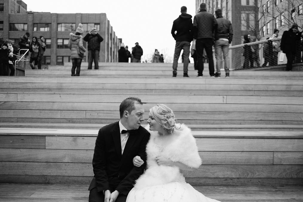 The Highline New York Wedding Photography