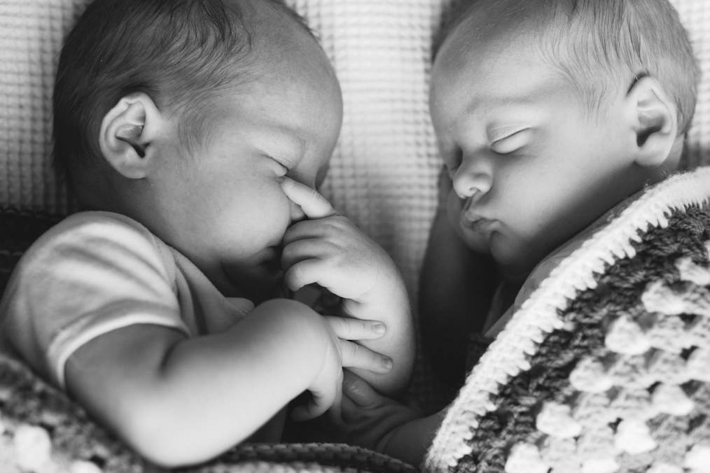Newborn Twin Photography Worksop
