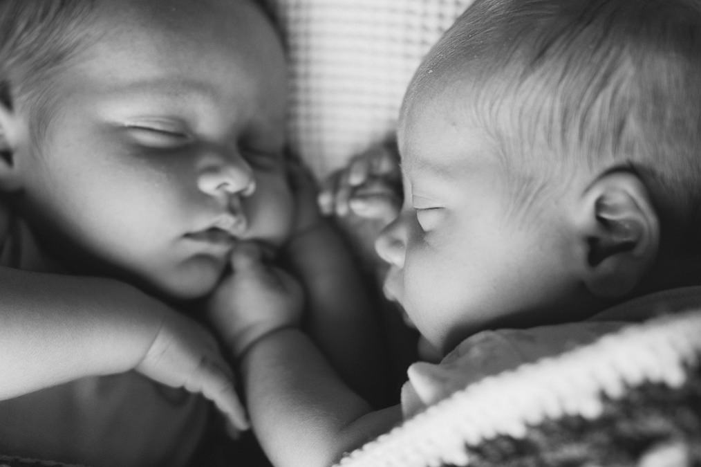 Twins Newborn Photography Leeds