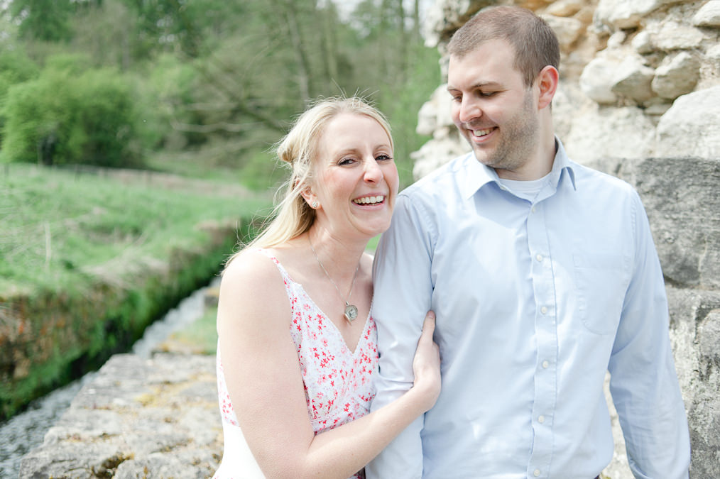 Vintage, Quirky  Sarah & Ben Engagement Shoot Roche Abbey Worksop Wedding Photographer