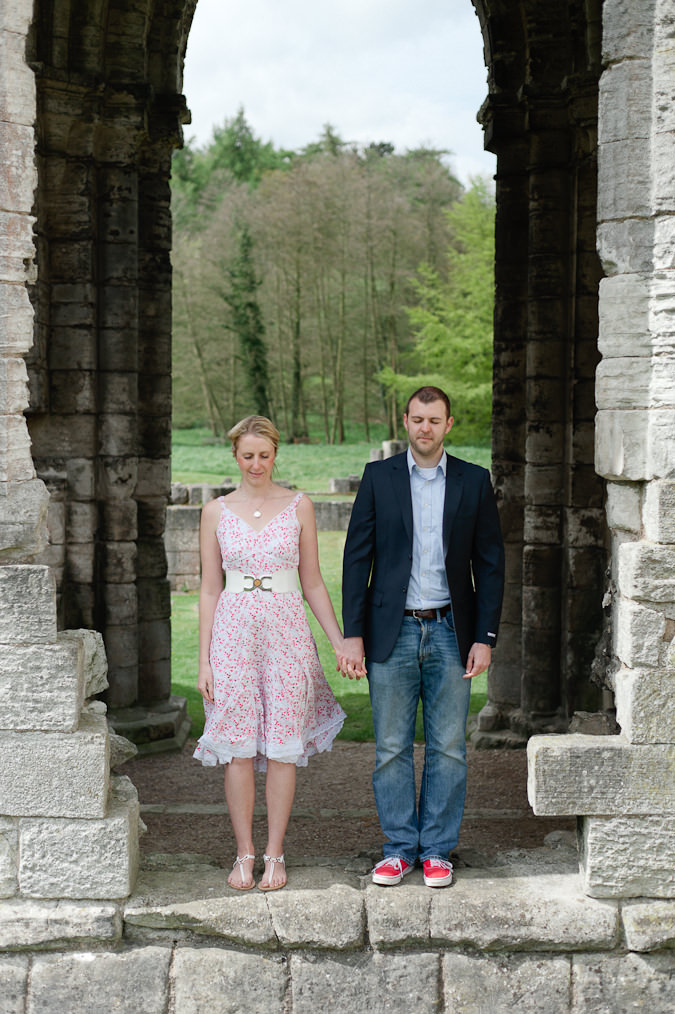 Sarah & Ben Pre Wedding Shoot Roche Abbey-50_mini