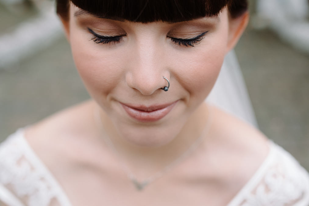 Piercings, Tattooed Bride