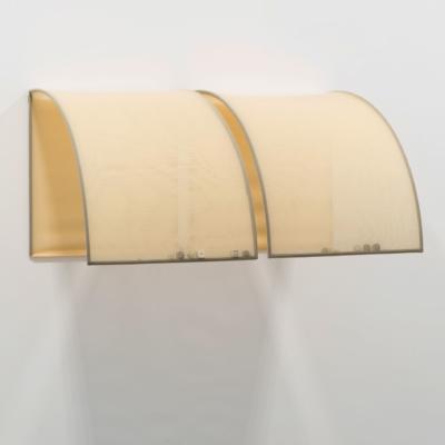 athanasios argianas/ rowena hughes. silkscreens / scoresheet series #3 canopy. dice various sizes, muslin, steel. 2016