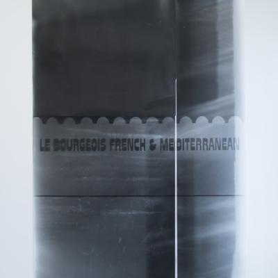 patricia l. boyd, le bourgeois french & mediterranean. silver gelatin photogram. 2017