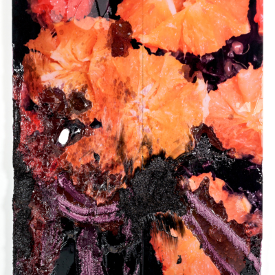 borden capalino. savant plush. uv print, silicone, rice, and pigmented resin on polystyrene 2017