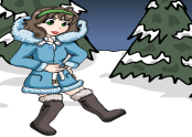 Snow Girl Dress Up