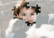 Jigsaw Puzzle: Boy and Goat