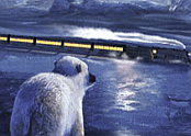 Aventure Train Polar Express