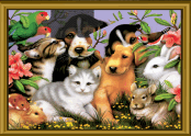 Puzzle Mania: Lovable Pets