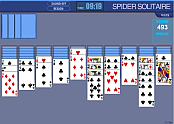 Pasjans Spider Solitaire Classic