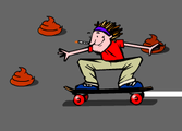 Skating Down The Shit Treet!