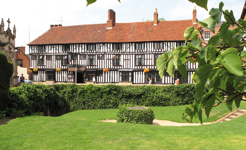 Shakespeare S New Place Stratford Upon Avon Garden