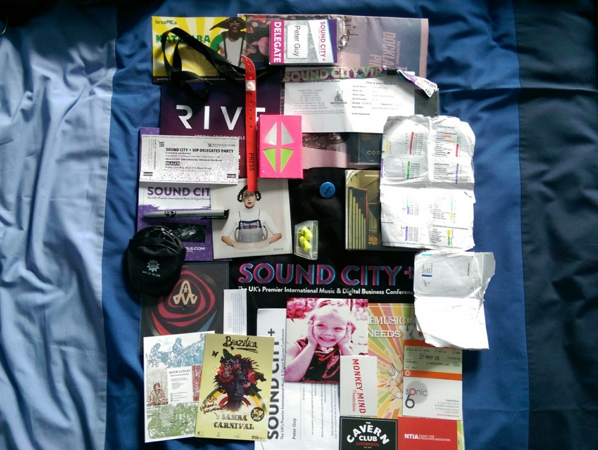 Sound City 2016 - Peter Guy's stash