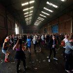 Baltic Warehouse Crowd
