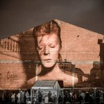 Bowie Tribute Projection
