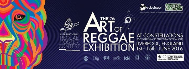 The Art of Reggae Exhibition, part of Positive Vibration Festival