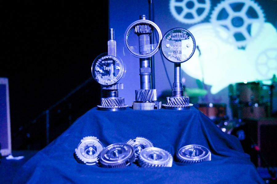 The various Awards and mementos