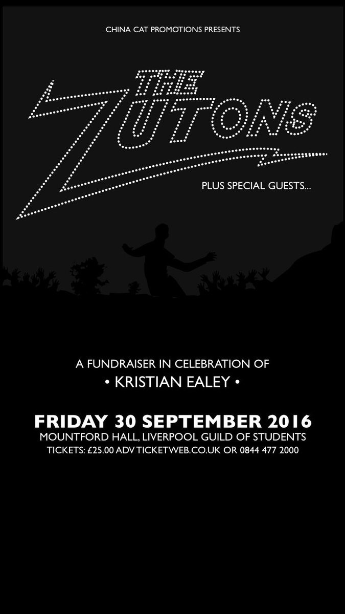 The Zutons fundraiser