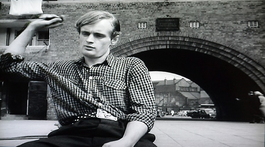 David McCallum Rebels in Violent Playground