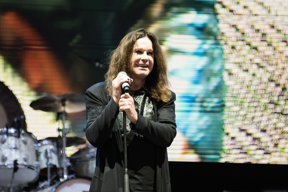 Ozzy Osbourne - Photo credit Download Festival and Ben Gibson