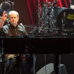 Brian Wilson takes to the keys
